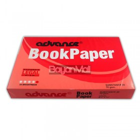 Advance Book Paper Substance 20 - 500 Sheets - Legal Size
