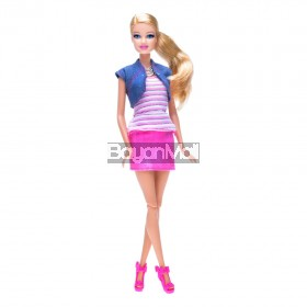 BARBIE BRB TSHIRT TRANSFER ACTIVITY DOLL