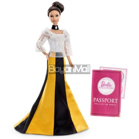 BARBIE DOLLS OF THE WORLD-PHILIPPINES 3BBI-X8423