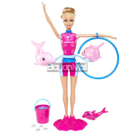 BARBIE I CAN BE DOLPHIN TRAINER 3BBI-X8380