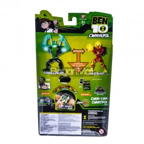 BEN 10 OMNI LINK FEATURE FIGURE HEATBLAST 05834