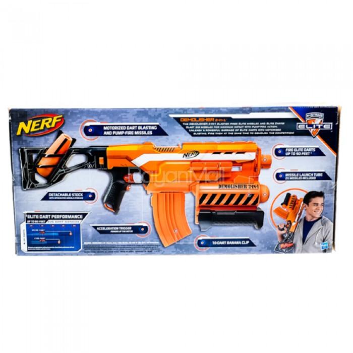 Blasterparts - NERF N-Strike Elite 2-in-1 Demolisher - Foam-Guns and  Accessories