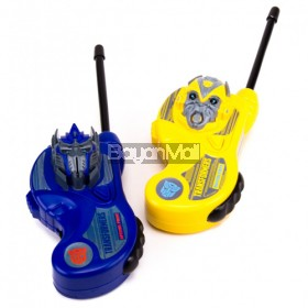 TRANSFORMERS HANDHELD WALKIE TALKIES 5352