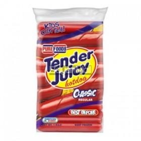 Purefoods Tender Juicy Hotdog Regular 1kg