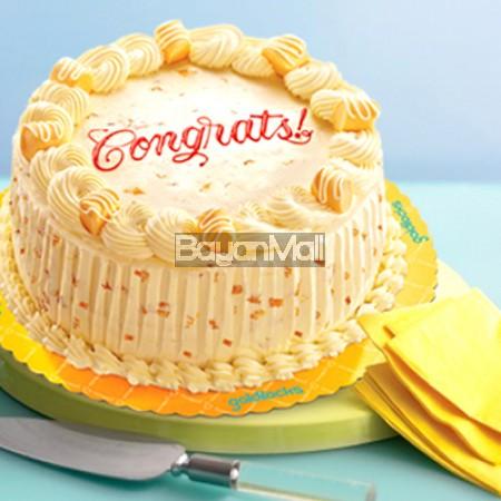 "Mango Chantilly Cake - 9"" Round - Goldilocks"
