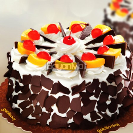 "Black Forest Cake BIG (8"" round) - Goldilocks"