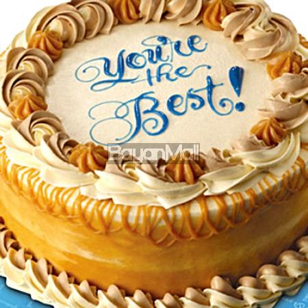 """Luscious Caramel Cake - 9"""" Round - Goldilocks"""