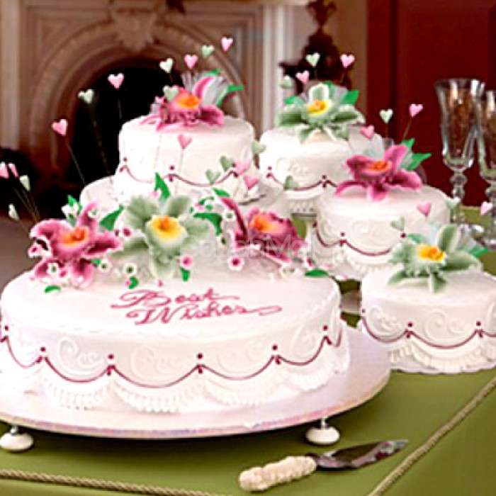 Wedding Cake Cost In Philippines Extravagant Celebrity Wedding Cakes Chwv Price Guideline For