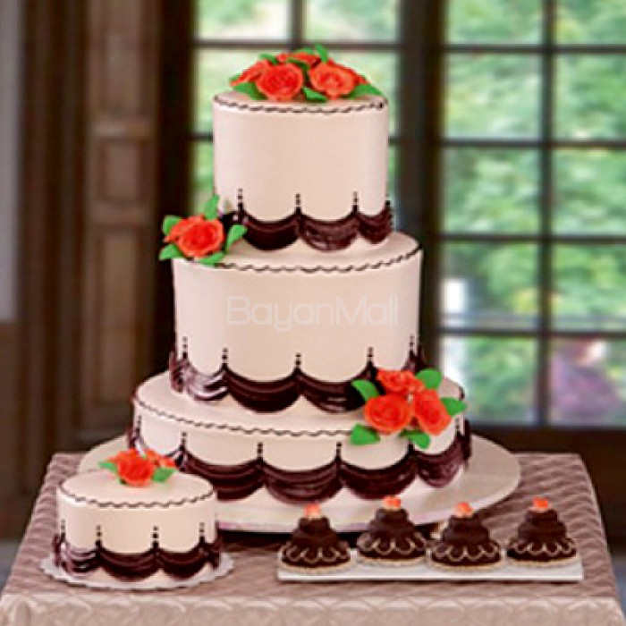 goldilocks wedding cake packages wedding package 14 quot 15 quot high goldilocks 14789