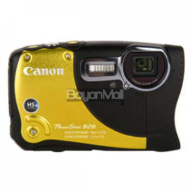 Canon Digital Camera POWERSHOT D20