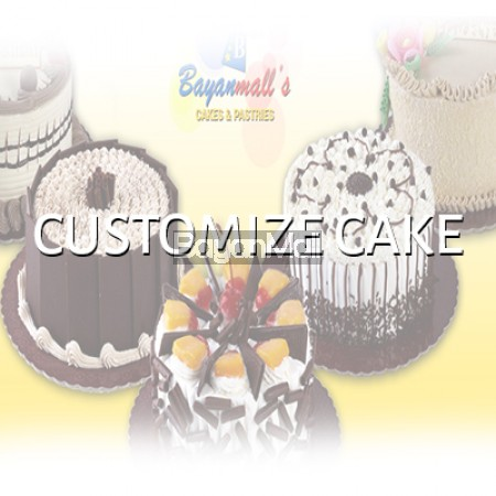 Special Order Customize 1 Layered Cake