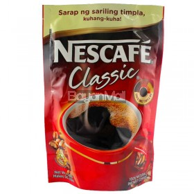 Nescafe Classic 100% Natural Instant Coffee Net. Wt. 100g