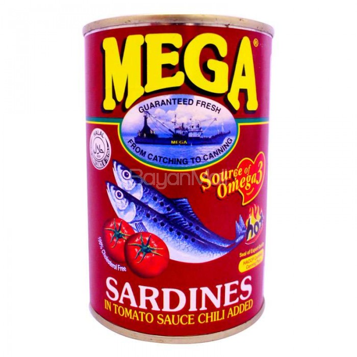 Mega Sardines Tomato sauce Hot 425g : IMG390320copy 700x7000 from www.bayanmall.com size 700 x 700 jpeg 89kB