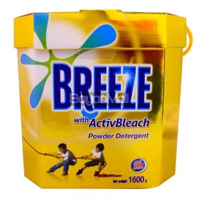 Breeze Powder Detergent Active Bleach 1600g