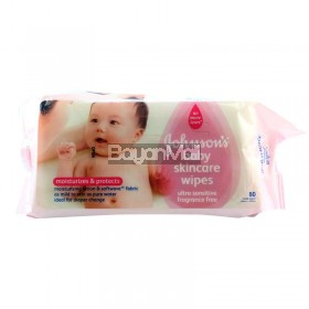 Johnson's Baby Skincare Wipes *80 Cloth Wipes 590g