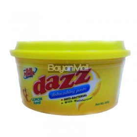 Dazz Dishwashing Paste Lemon 200g