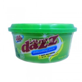 Dazz Dishwashing Paste Lime 400g
