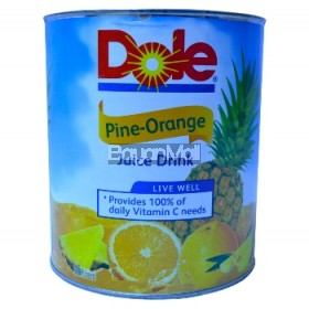 Dole Pine Orange Juice Drink 2.9L in can