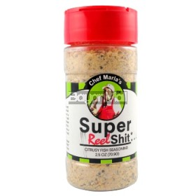 Chef Marla's Super Reel Shit - Citrusy Fish Seasoning 70.9g