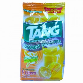 Tang Combo Delights Orange-Mango Instant Drink Mix 225g