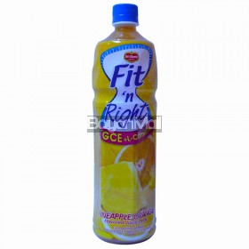 Del Monte Fit 'N Right Pineapple Orange 1L in a bottle