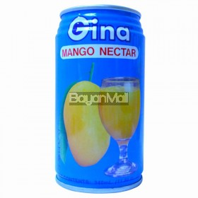 Gina Mango Nectar 340ml in can