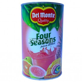 Del Monte Four Seasons Juice Drink 1.36L in can