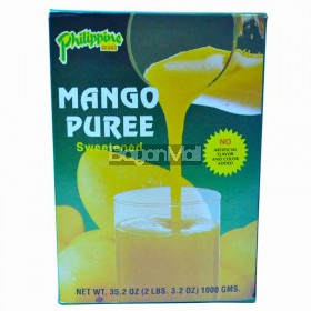 Philippine Brand Mango Puree Sweetened 1000g