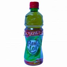 Real Leaf Green Tea Honey Apple 480mL