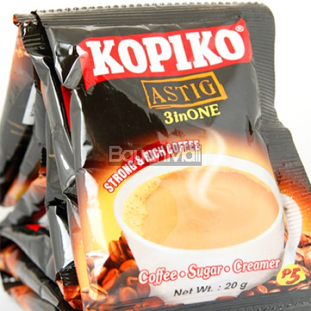 Kopiko Astig 3inONE Strong & Rich Coffee (30pcs x 20g)