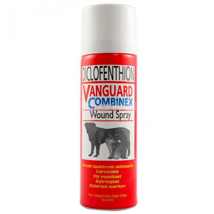 Diclofenthion Vanguard Combinex Wound Spray 40g