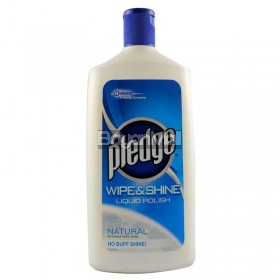 Pledge Wipe & Shine Liquid Polish - Natural 500ml
