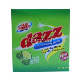 Dazz Dishwasing Pack Lime Scent 400g