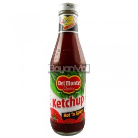 Del Monte Ketchup Hot 'n Spicy Net Wt. 335 g.