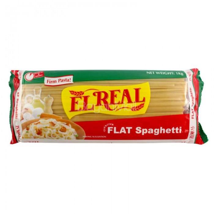 El Real Flat Spaghetti Net Wt 1kg