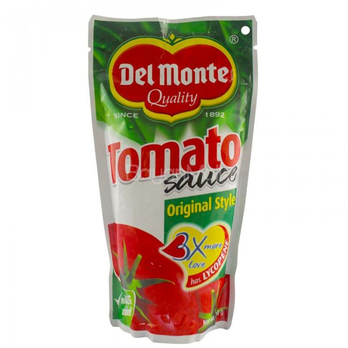 Del Monte Quality Tomato Sauce Original Style Net Wt 250g