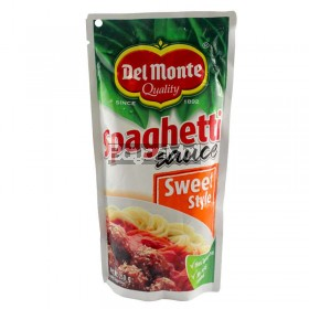 Del Monte Quality Spaghetti Sauce Sweet Style Net Wt. 250g