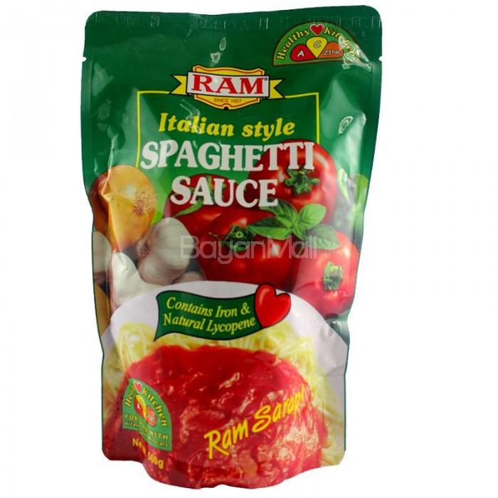 Ram Italian Style Spaghetti Sauce Net Wt 560g