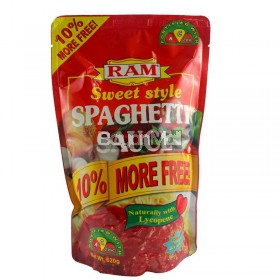 RAM Sweet Style Spaghetti Sauce Net Wt. 620g