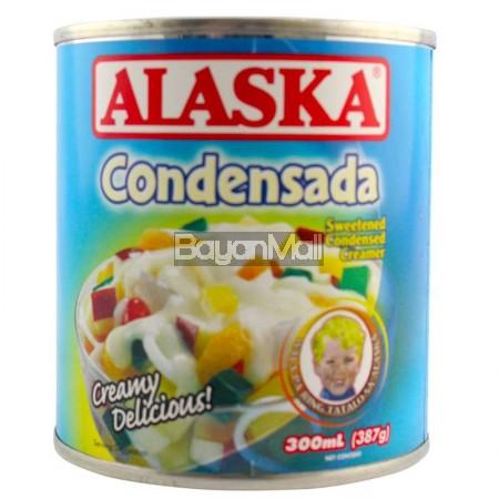 Alaska Condensada Sweetened Condensed Cream Net Cont. 387g