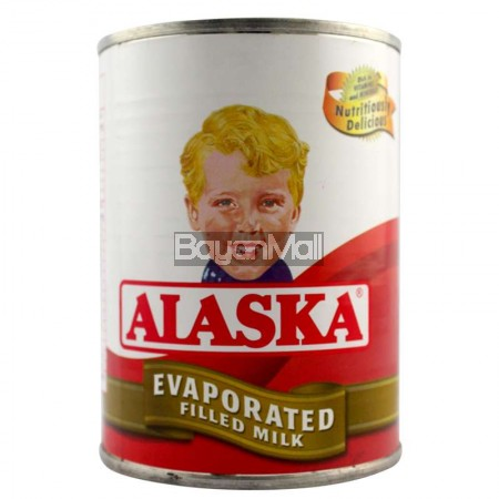 Alaska Evaporated Filled Milk 370ml