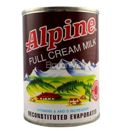 Alpine Full Cream Milk Net Cont. 370ml