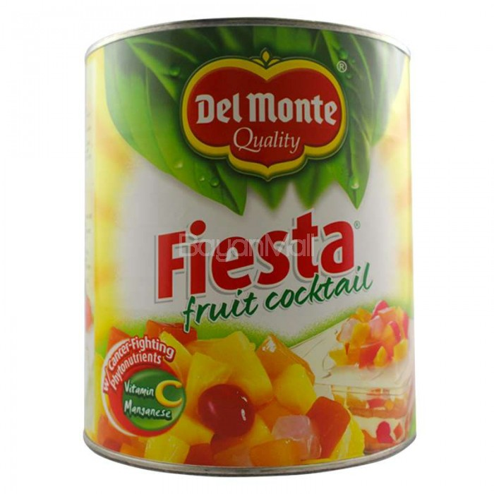 Del Monte Quality Fiesta Fruit Cocktail Net Wt 3033g