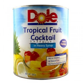 Dole Tropical Fruit Cocktail in Heavy Syrup Net Wt. 3062g