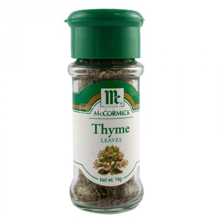 Mccormick Thyme Leaves Net Wt 14g
