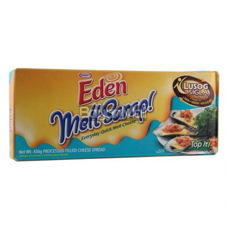 Kraft Eden Melt Sarap Processed Filled Cheese Spread 450g