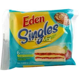 Eden Singles Processed Filled Cheese Spread 125g
