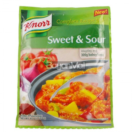 Knorr Complete Recipe Mix Sweet Amp Sour 45g