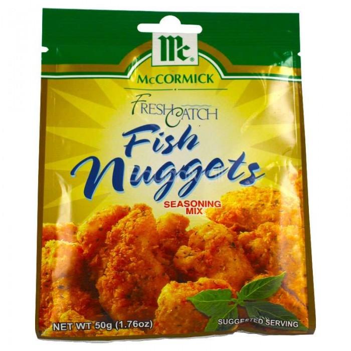 Mccormick fish nuggets seasoning mix 50g for Fish seasoning recipe