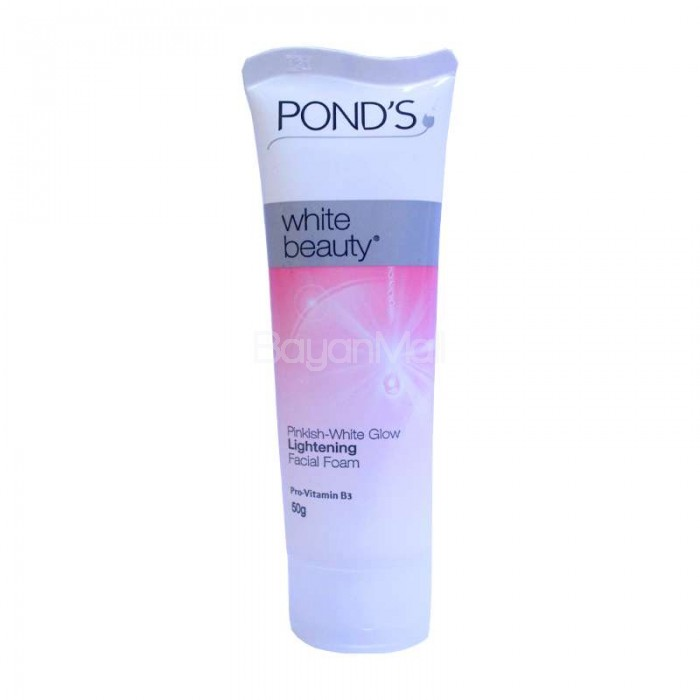Pond 39 s white beauty facial foam 50g for Pond care supplies